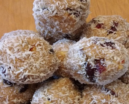 PACE (Protein Almond Coconut Energy) Balls