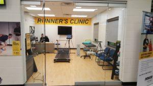 Sanford runner's clinic