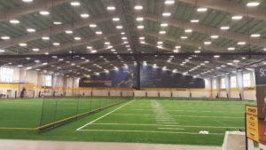 Sanford indoor fieldhouse