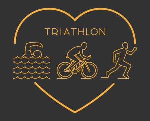 Love triathlon